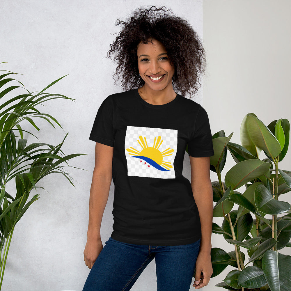 3 STARS AND A SUN DESIGN Short-Sleeve Unisex T-Shirt