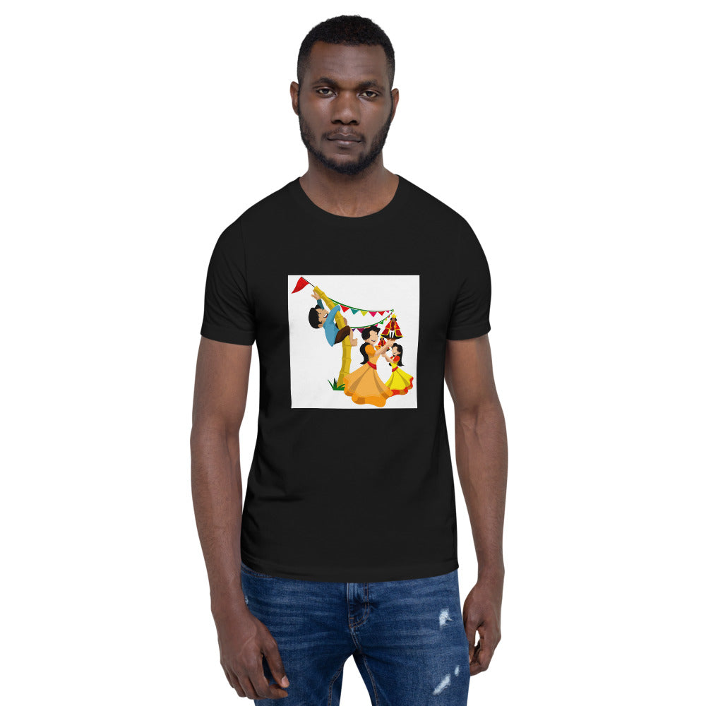 PHILIPPINE CELEBRATIONS AND TRADITIONS DESIGN Short-Sleeve Unisex T-Shirt