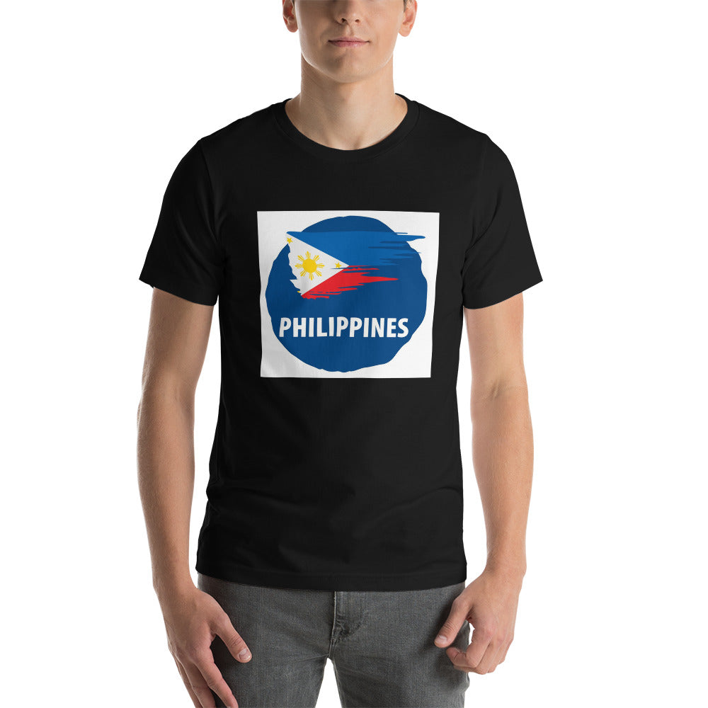 PHILIPPINES DESIGN Short-Sleeve Unisex T-Shirt