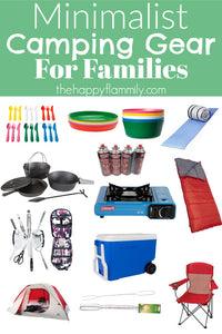 Minimalist Camping Gear for Families