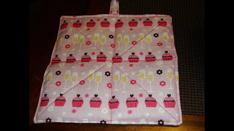 EASY How to Make a Hot Pad (Tutorial) hotpad pot holder by CookingAndCrafting (9 years ago)
