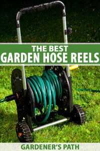 If you have a garden hose, you're going to want to buy some kind of reel or other storage unit where you can tuck it away.