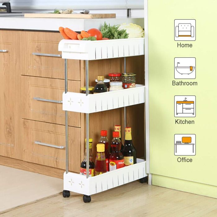 Sometimes it seems that no matter what we do we keep needing more and more storage space in our kitchens