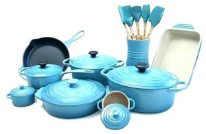 Out Of The Ordinary Blue Pots And Pans
