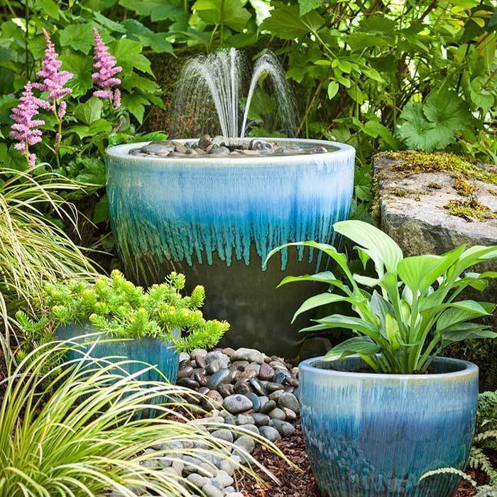 Sweet Diy Outdoor Fountain