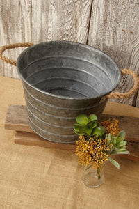 Plan Large Galvanized Buckets