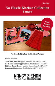 No-Hassle Kitchen Towel Topper Sewing Tutorial and NEW Wildflower Boutique Fabric Bundle Boxes at ShopNZP.com