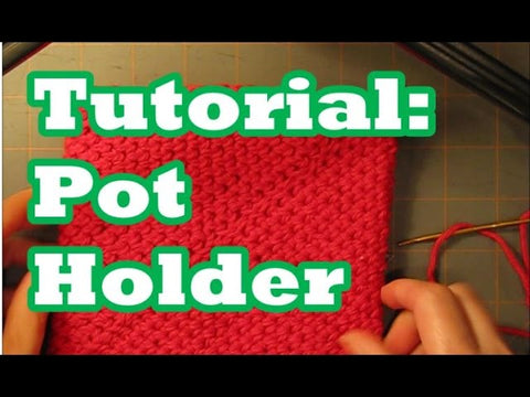 "Tutorial: Pot Holder- Double Thick ""Folds In On Itself"" by Margaret Olander (6 years ago)"