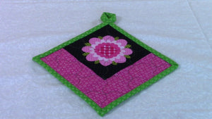 Hanging Pot Holder - Very detailed instructions by The Sewing Room Channel (4 years ago)