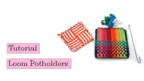 Tutorial - Loom Potholders by VeryPink Knits (4 years ago)