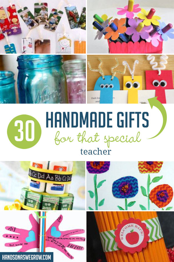 Click here to read 30 Teacher Appreciation Gifts Kids Can Make on Hands On As We Grow®