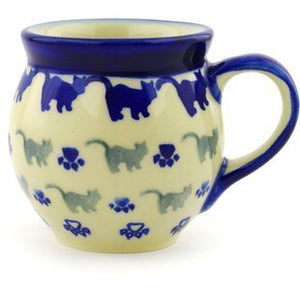 European Polish Pottery Mugs