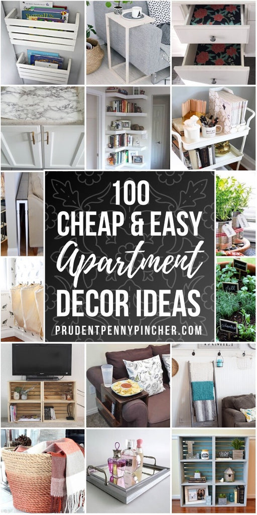 100 DIY Apartment Decorating Ideas