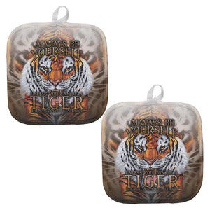 Always Be Yourself Unless Wild Tiger All Over Pot Holder (Set of 2)