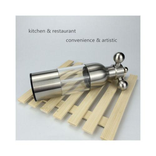 304 stainless steel rudder-shaped tube mill Pepper Mill restaurant kitchen fauce