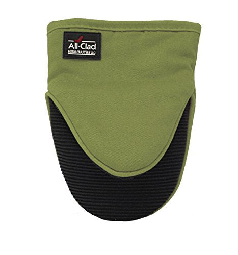 All-Clad Textiles Professional Silicone Grabber Mitt, Sage Green