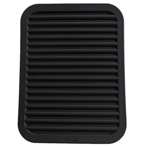 "AMTOP 9"" x 12"" Silicone Pot Holder, Trivet Mat, Baking Gadget Kitchen Table Mat, Silicone Drying Mat, Draining Board - Waterproof, Heat Insulation, Non-Slip, Trivet, Tableware Pad Coasters (Black)"