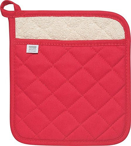 DANICA NOW DESIGNS Pot Holder Superior Red, 1 Each