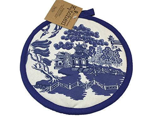 Kay Dee Designs Blue Willow Potholder