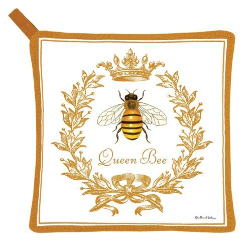 Alice's Cottage Queen Bee Kitchen Linens (1) (Potholder (1))