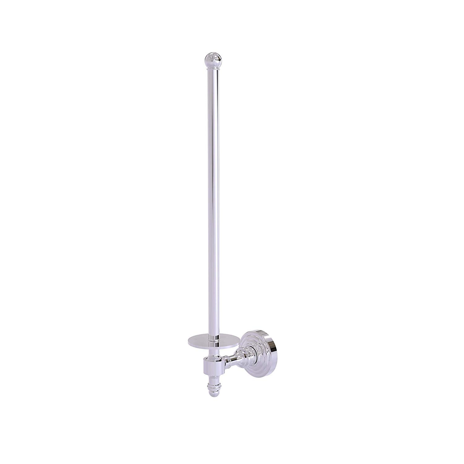 Allied Brass RW-24U/12-PC Retro Wave Collection Wall Mounted Paper Towel Holder, Polished Chrome