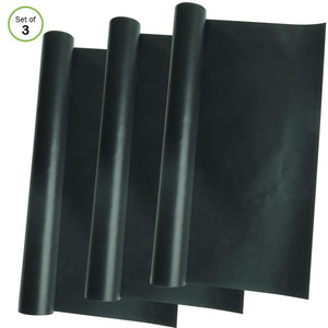 Evelots Oven Liner-Extra Large-Non Stick Fiberglass-Reusable-400 Degrees-Set/3