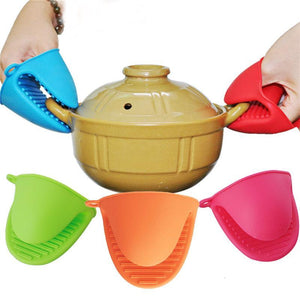 Wife Helper Heat Insulation Gloves Silicone Hand Clip Baking Tools