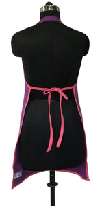Lushomes Royal Lilac and Rasberry Bi-color Apron Set (8 pcs)