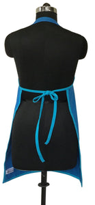 Lushomes Sky Diver and Bachelor Button Bi-color Apron Set (8 pcs)