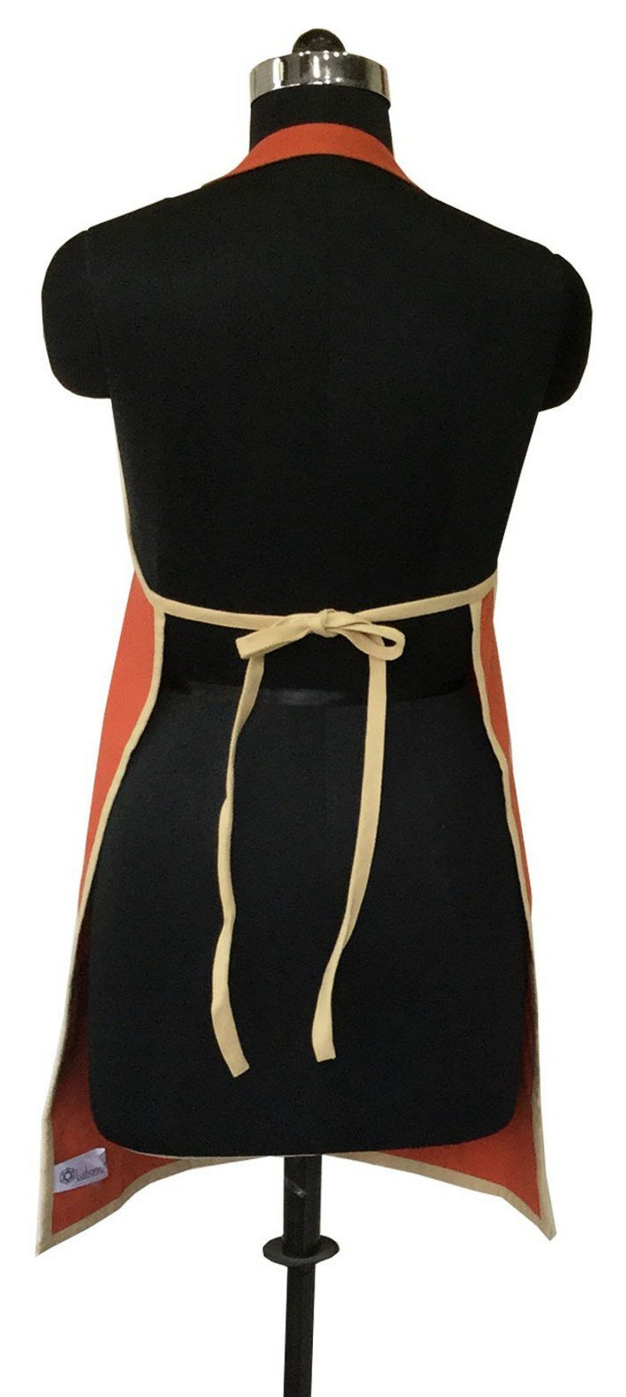Lushomes Red Wood and Sand Bi-color Apron Set (8 pcs)