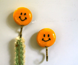 Smiley Face Kitchen Magnets, Fridge Magnets, Refrigerator Magnets, Potholder Magnets