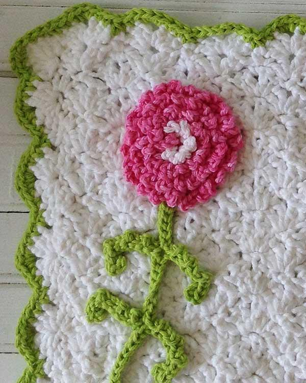 Carnation Kitchen Set Crochet Pattern