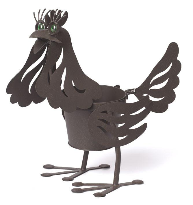 "Flossy the Hen, 6"" Pot Holder,"