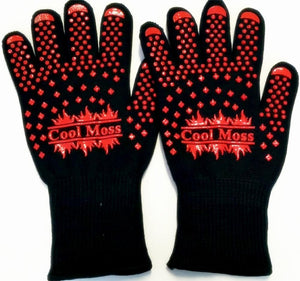 (1 pair) Best Oven Gloves  Heat Resistant  Gloves, Pot Holders Avoid Accidents With Super Flexible