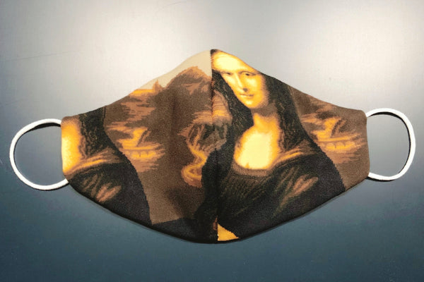 ART FACE MASKS - Mona Lisa