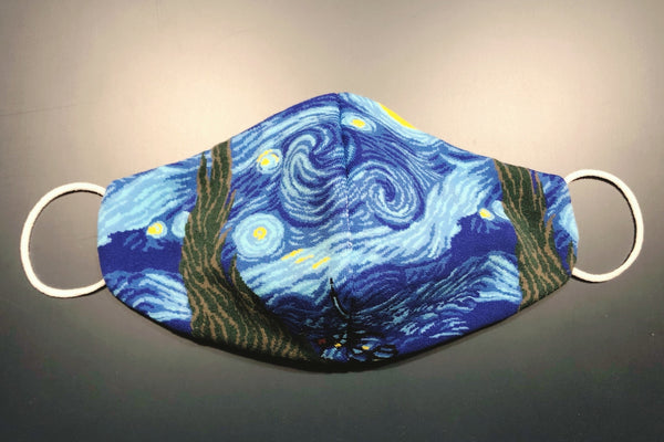 ART FACE MASKS - Starry Night