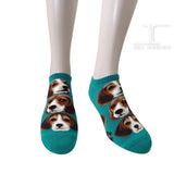 Ankle Socks - Dogs - Beagle Design