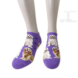 Ankle Socks - Dogs - Golden Retriever Design