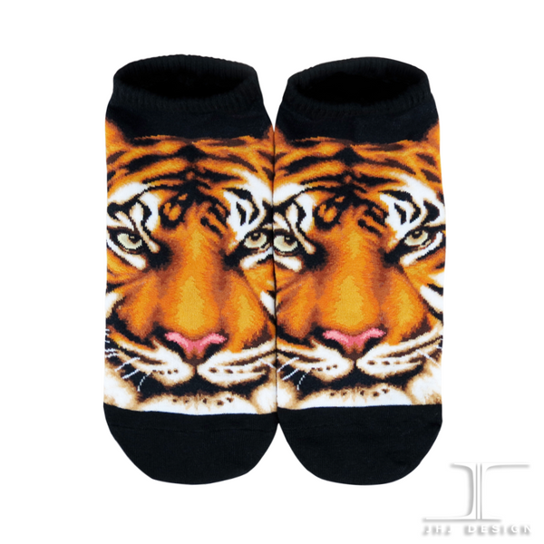 Ankle socks - Wild Life - Tiger Design