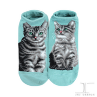 Ankle Socks - Cats - American Shorthair design