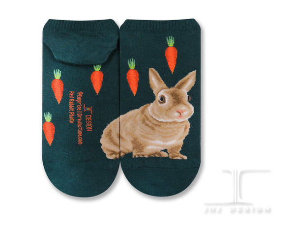 Ankle socks- Red Rabbit