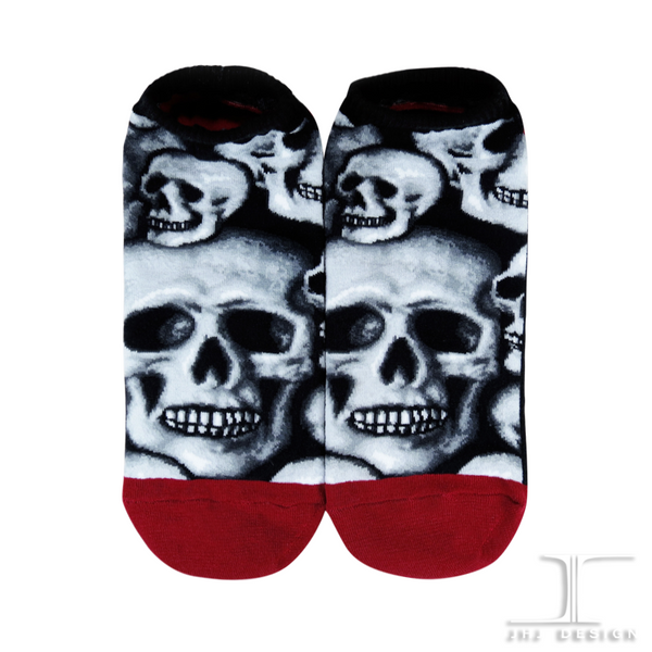 Ankle socks - Skulls - All Over Skulls