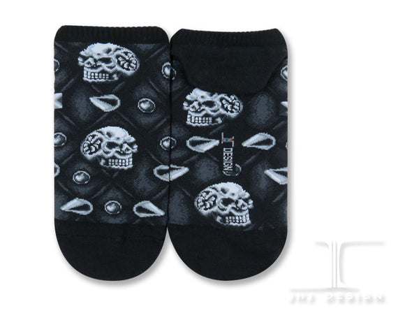 Ankle socks - Spikes and Skulls