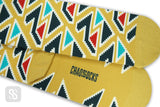 Aztec Triangles - Yellow