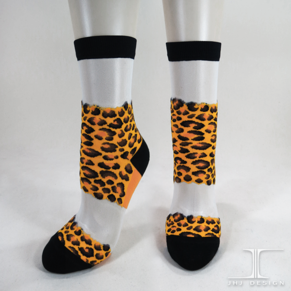 Animal Skin socks - Leopard Spot Design