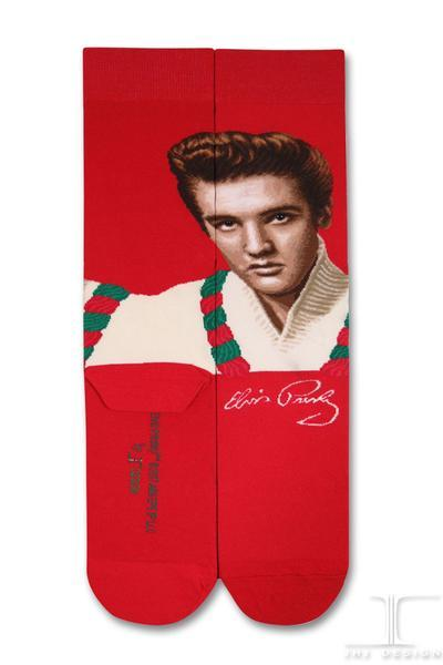 Elvis - Red and Green Leigh