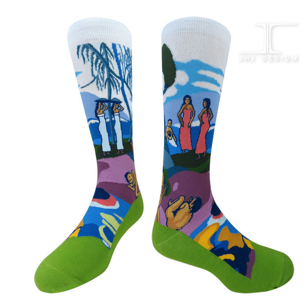 Masterpiece Day of the God Socks Paul Gauguin