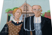 Ankle Socks - Masterpiece - American Gothic