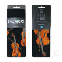 Chaossocks Music Violin Strings Socks