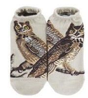 Ankle socks - Masterpiece - The Great Horned Owls